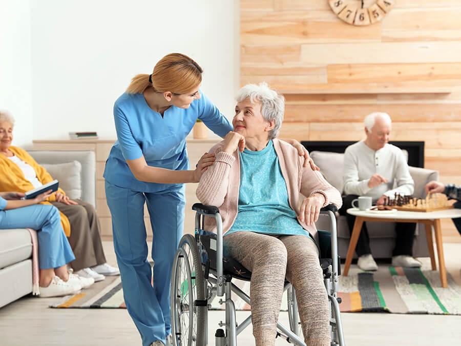 海外の老人介護施設